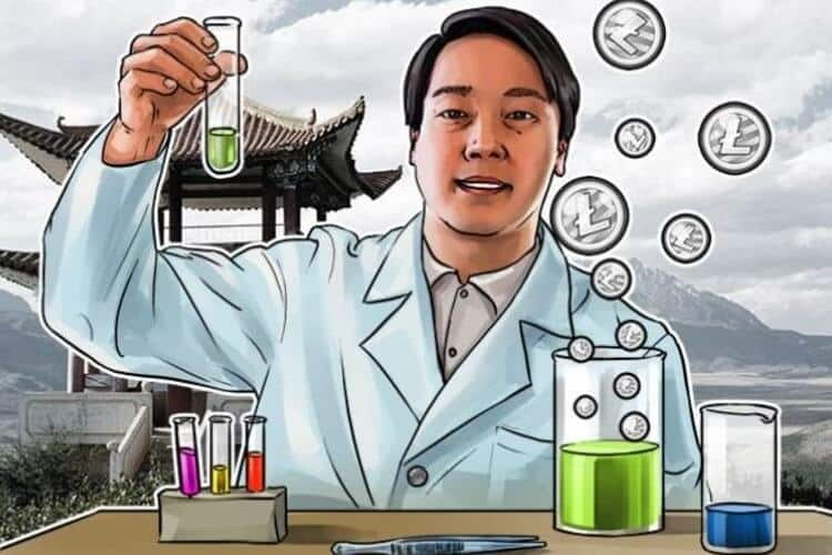 photo of charlie lee the found of litecoin