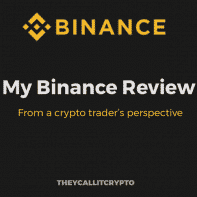 Title image of Binance Review by Theycallitcrypto
