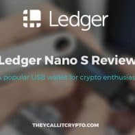 Review of ledger nano s title image