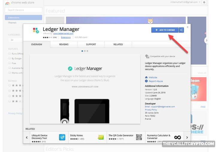 Ledger manager ripple